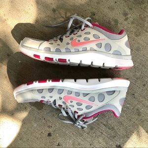 Nike Training Fit Soles Pink/Grey Shoes